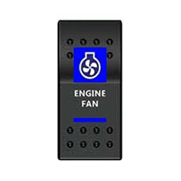 Тумблер Engine Fan 3х позиционный (тип A)