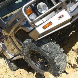 Боковая защита ARB Toyota LC 70 1985-2007