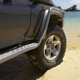 Силовые пороги с защитой крыла ARB Toyota LC 70 2007-...