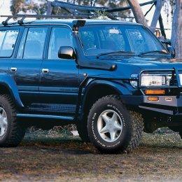 Силовые пороги с защитой крыла ARB Toyota LC 80 1990-1997