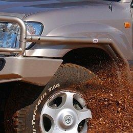 Силовые пороги с защитой крыла ARB Toyota LC 100/105 1997-2007
