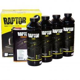 Белое защитное покрытие U-POL Raptor (4 литра)