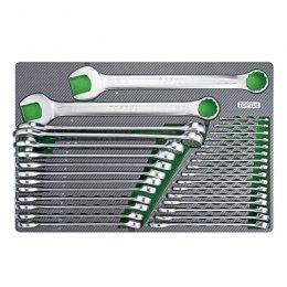 Набор ключей комбинированных 6-38мм 30ед. (в ложементе) TOPTUL GED3025 GED3025 TOPTUL