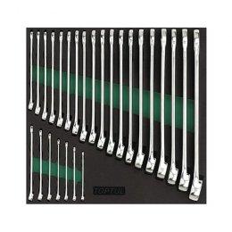 Набор ключей комбинированных 6-32мм 26ед. (в ложементе) GVC2604 TOPTUL