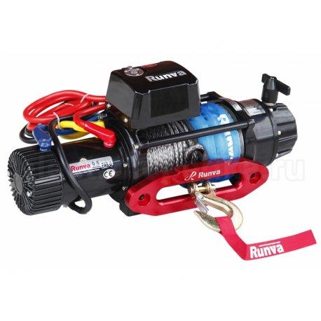 Спортивная электрическая лебедка Runva EWB 9500-Q-SR (синтетический трос)