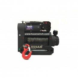 Электрическая лебедка с двойным мотором Husar BST S 12000 (синтетический трос)