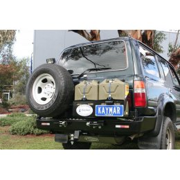 Задний бампер Kaymar с калитками Toyota LC 80 1990-1997