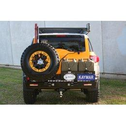 Задний бампер Kaymar с калитками Toyota FJ-Cruiser 2006-...