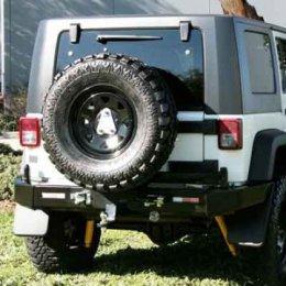 Задний бампер Kaymar с калиткой Jeep Wrangler 2007- ...