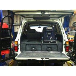 Комплект ящиков Outback Solutions в багажник для Toyota LC80