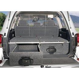 Комплект перегородок между ящиками и багажником Toyota LC 200