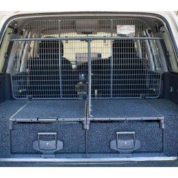 Комплект перегородок между ящиками и багажником Toyota LC 76