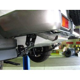 Топливный бак LONG RANGER 166l Toyota Land Cruiser 76