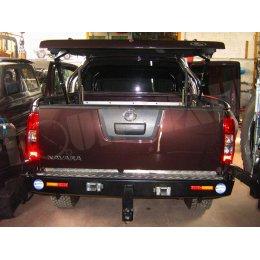 Задний бампер Kaymar Nissan Navara 2005-2015