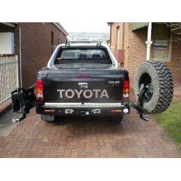 Задний бампер Kaymar Toyota Hilux 2005-...