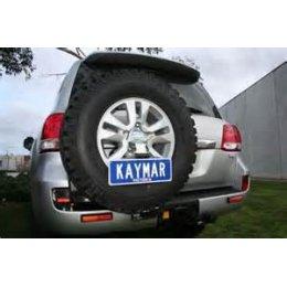 Крепеж номерного знака к калитке Toyota LC 200