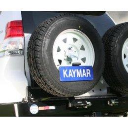 Крепеж номерного знака к калитке Toyota LC Prado 150
