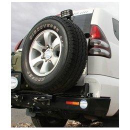 Выносной крепеж запаски правый Toyota LC Prado 120 2003-2009