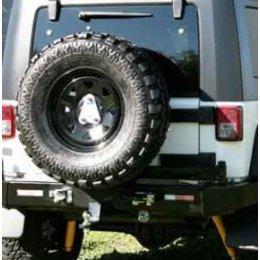 Выносной крепеж запаски центральный Jeep Wrangler 2007- ...