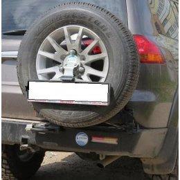 Выносной крепеж запаски правый Mitsubishi Pajero Sport 2010-2016