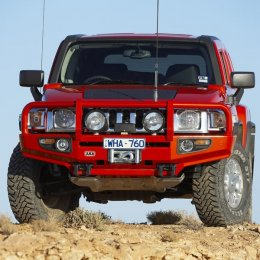 Силовой бампер ARB Delux Hummer H3 2008-10