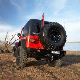 Задний силовой бампер ARB Jeep Wrangler 1996-06