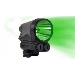 Тактический фонарь для охотничьего ружья Light Force PRED9X-GREEN