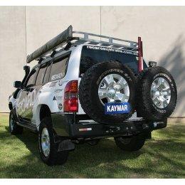 Задний бампер Kaymar Nissan Patrol Y61 1997-2010