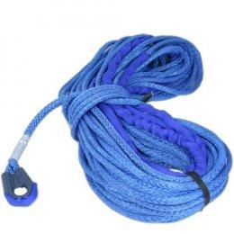 Синтетический (кевларовый) трос Samson AmSteel-Blue Samthane 15м 7мм