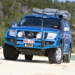 Силовой бампер ARB Delux Nissan Navara 2005-2009