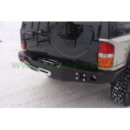 Задний силовой бампер Nissan Patrol Y60