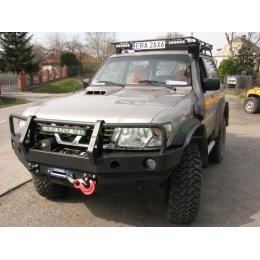 Силовой бампер Nissan Patrol Y61 1997-2004