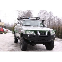 Силовой бампер Nissan Patrol Y61 2004-2010