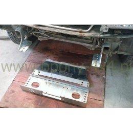Комплект для установки лебедки в штатный бампер Suzuki Grand Vitara 1998-2005