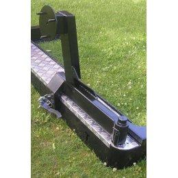 Калитка под запасное колесо к бамперу Toyota Land Cruiser 80