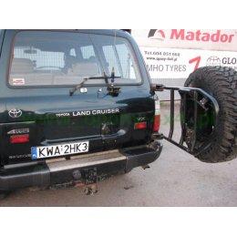 Калитка под запасное колесо Toyota Land Cruiser 80