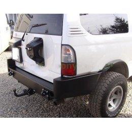 Задний силовой бампер Toyota Land Cruiser 90