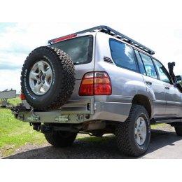 Задний силовой бампер с калиткой под запаску Toyota Land Cruiser 100