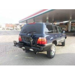 Задний силовой бампер с калитками Toyota Land Cruiser 100