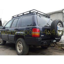Задний силовой бампер Jeep Grand Cherokee ZJ 1993-1998