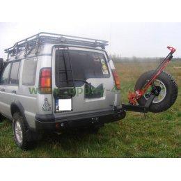 Задний силовой бампер с калиткой Land Rover Discovery II