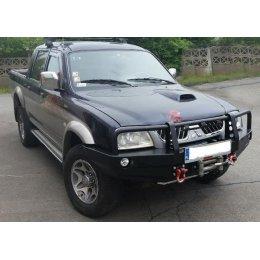 Силовой бампер Mitsubishi L200 2001-2006