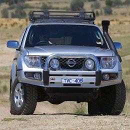 Силовой бампер ARB Sahara Nissan Navara 2009-...