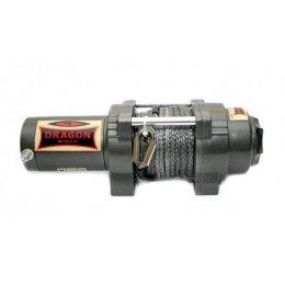 Электрическая лебедка Dragon Winch Highlander 4500HDs (синтетический трос)