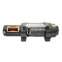 Электрическая лебедка Dragon Winch Highlander 4500HDLs (синтетический трос)
