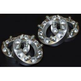 Алюминиевые колесные проставки 40мм 6x139,7 M12x1,25