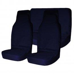 Комплект грязезащитных чехлов на передние и заднее сиденья T-Plus
