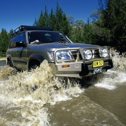 Силовой бампер ARB Delux Nissan Patrol Y61 1997-2004