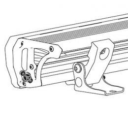 Комплект креплений для плоских поверхностей (Intensity LED Light Bar)