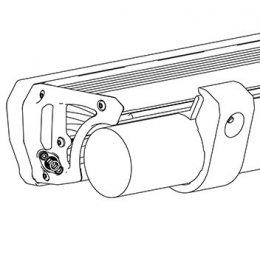 Комплект креплений на бампер к трубе диаметром 76,1мм (Intensity LED Light Bar)